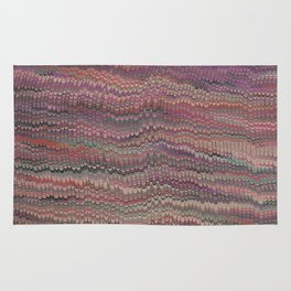 Mirrored Symmetry Multicolored Fall Rug