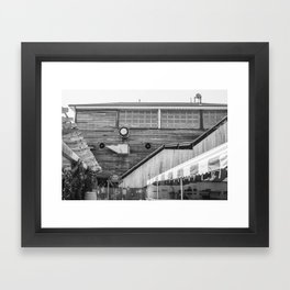 Red Hook Rustic Framed Art Print