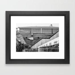 Red Hook Rustic Framed Art Print