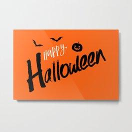 The Happy Halloween III Metal Print