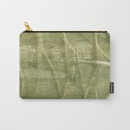 Dark khaki watercolor Carry-All Pouch