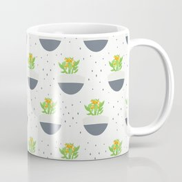 Potted Kalanchoe Plant Mom Pattern Coffee Mug