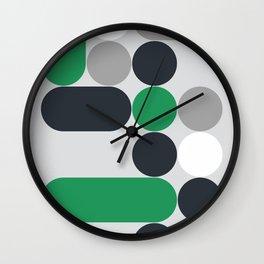 Domino 08 Wall Clock