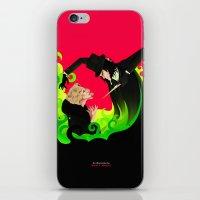 ahs iPhone & iPod Skins featuring AHS by Matias G. Martinez