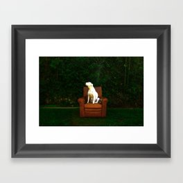 take it in Framed Art Print