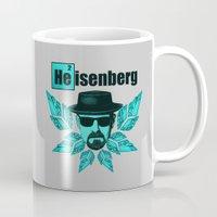 heisenberg Mugs featuring Heisenberg by tshirtsz