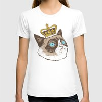 grumpy T-shirts featuring Grumpy King by Chase Kunz