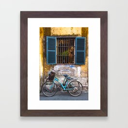 Savonnerie and Bicycles, Hoi An Ancient Town, Vietnam Framed Art Print