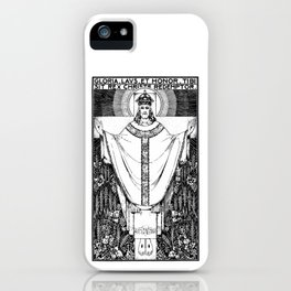 Rex Christe Redemptor - [Missal Setting] iPhone Case