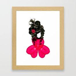 Miss Petals Framed Art Print