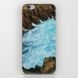 Waves Below iPhone Skin