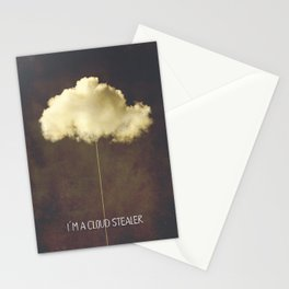 Im a cloud stealer Stationery Cards