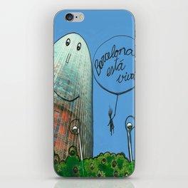Barcelona está viva iPhone Skin