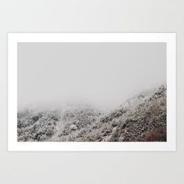 White breath Art Print