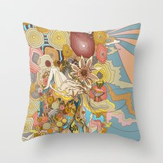 Great Fruits & Blood Oranges Throw Pillow