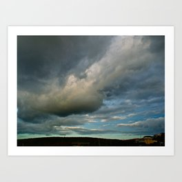 Grace Clouds II Art Print