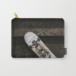 Grungy Skateboard (Color) Carry-All Pouch