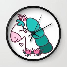 Cute Pony Wall Clock