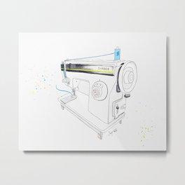 Vintage Singer 964 Sewing Machine Metal Print
