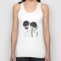 larry Tank Tops featuring Larry hugging by Drawpassionn