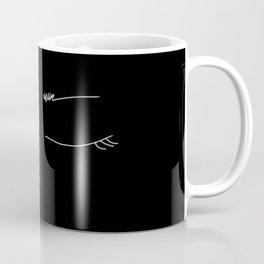 closed eyes yogi Coffee Mug