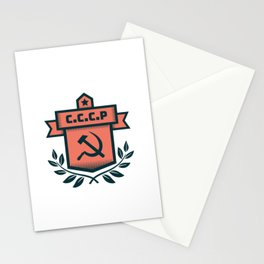 CCCP Modern Coat of Arms Stationery Cards