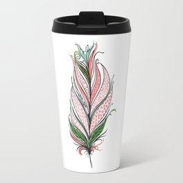Feather From The East Travel Mug