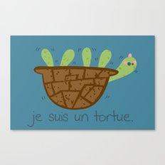 Logans Tortoise-Turtle Canvas Print