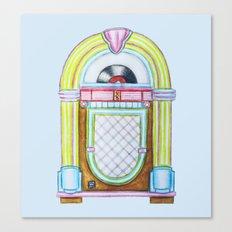 Jukebox Canvas Print