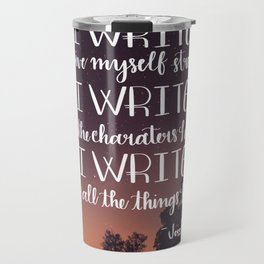 I Write Travel Mug