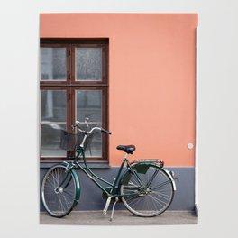 Bike and window Poster