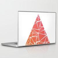 pyramid Laptop & iPad Skins featuring Pyramid by Mariam Calitri