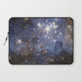 Adventures in Time and Space Laptop Sleeve