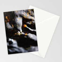 Lava tube cave Stationery Cards