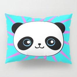 Wild Rockstar Panda Pillow Sham