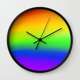 Rainbow Bright Wall Clock