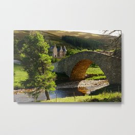 Cairngorms Natural Park, in the heart of the Scottish Highlands Metal Print