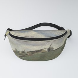 The Hill of Montmartre with Stone Quarry Fanny Pack