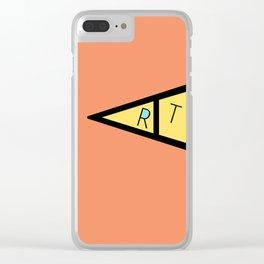art 23 Clear iPhone Case