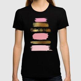Brush Strokes (Rose/Gold) T-shirt