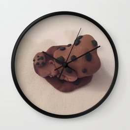 Chocolate Chip Baby Wall Clock