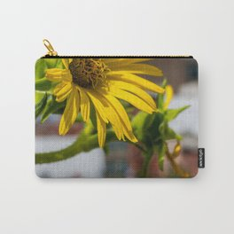 Yellow Flower in NYC Carry-All Pouch