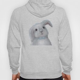 White Rabbit Boy isolated Hoody