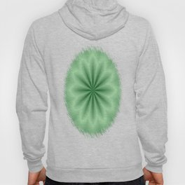 Green Abstract Star Hoody