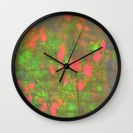 girl pattern Wall Clock