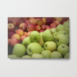 Fresh Apples Metal Print