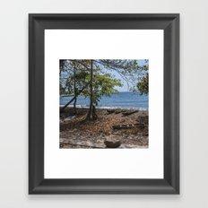 A Quiet Afternoon Framed Art Print