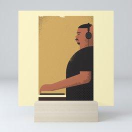 DJ Screw Mini Art Print