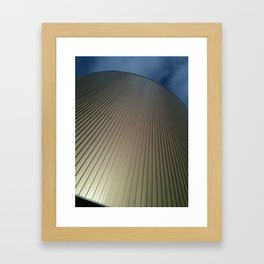 Up to the Blue Framed Art Print