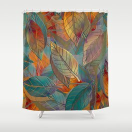Autumn Pattern Shower Curtain